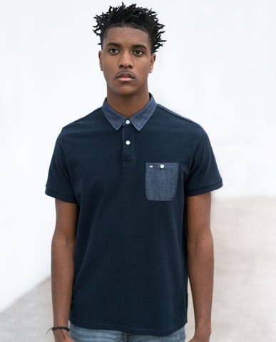 WEEKEND OFFENDER COLLAR POCKET TEE