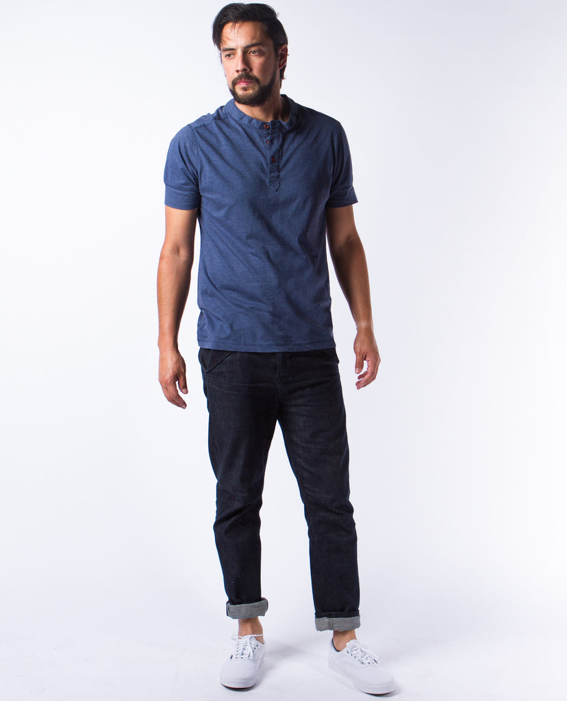 Jared Blue SS Henley