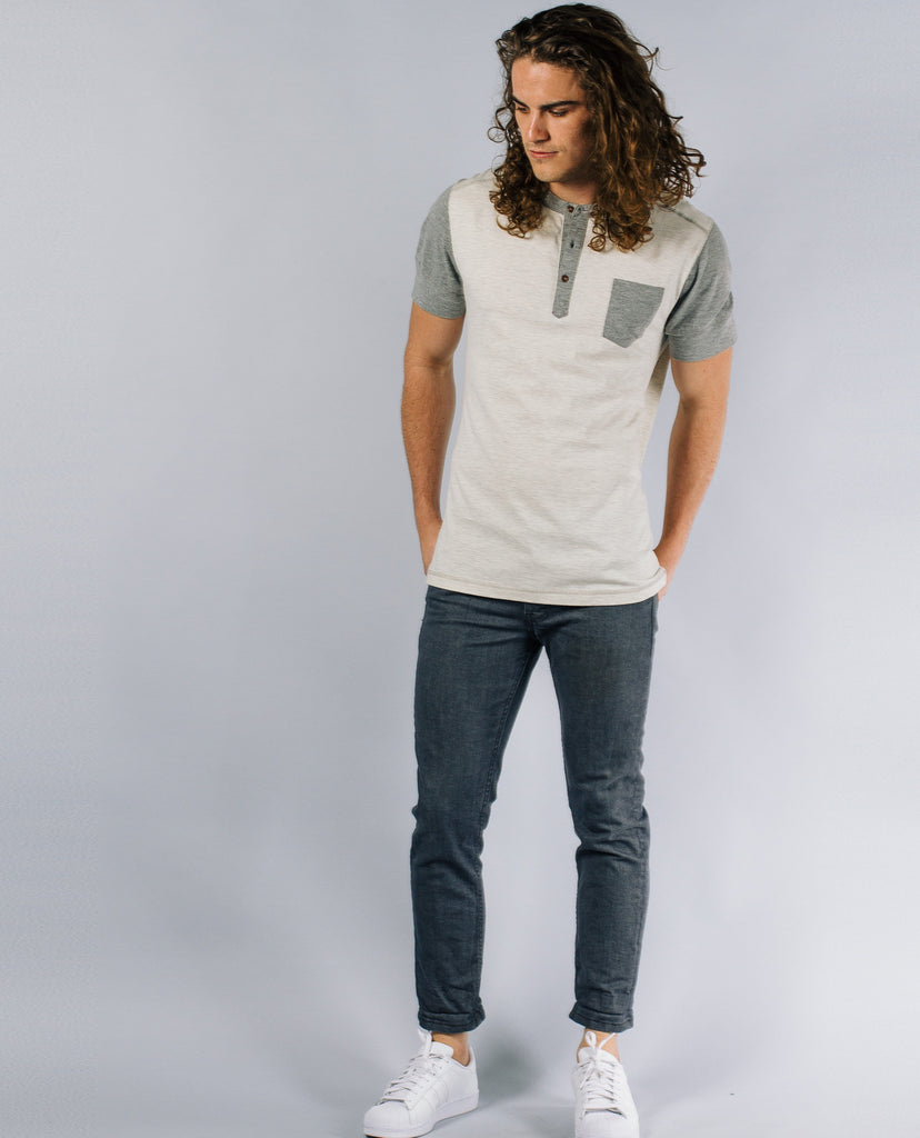 Jared Two Tone Henley