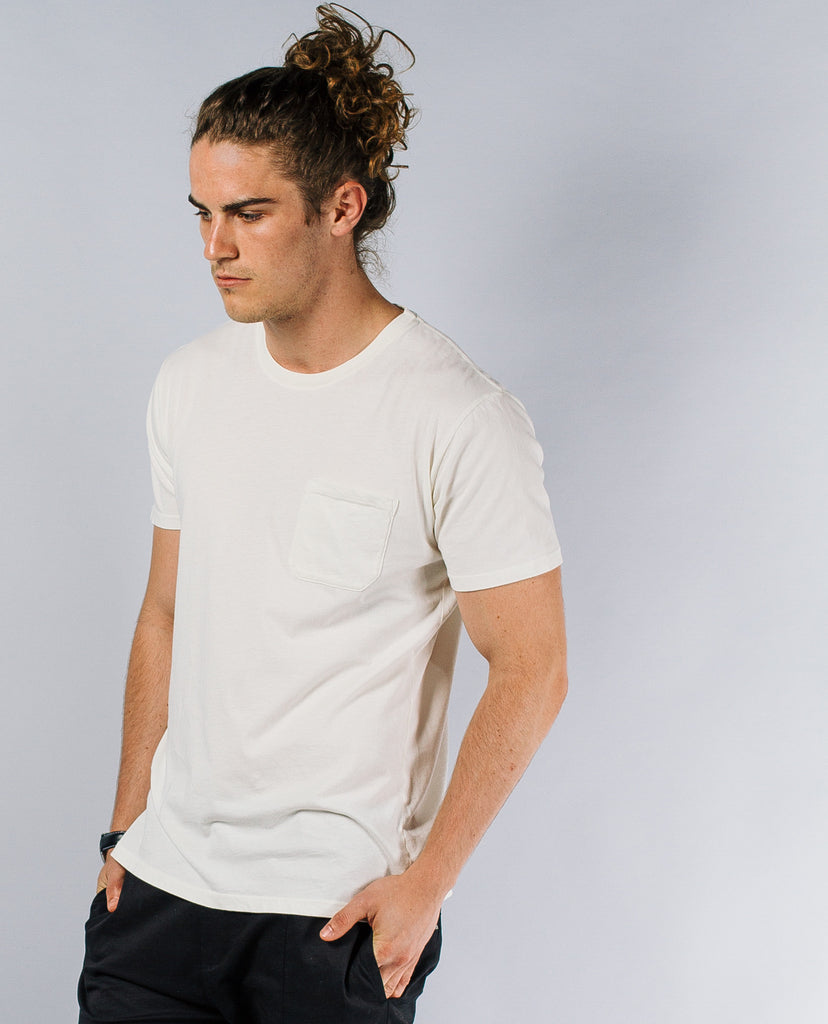Richer Poorer Pocket Tee Natural
