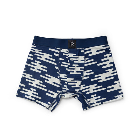 Richer Poorer Bount Boxer Navy