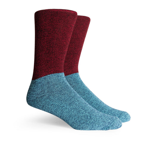 Richer Poorer Troubador Socks