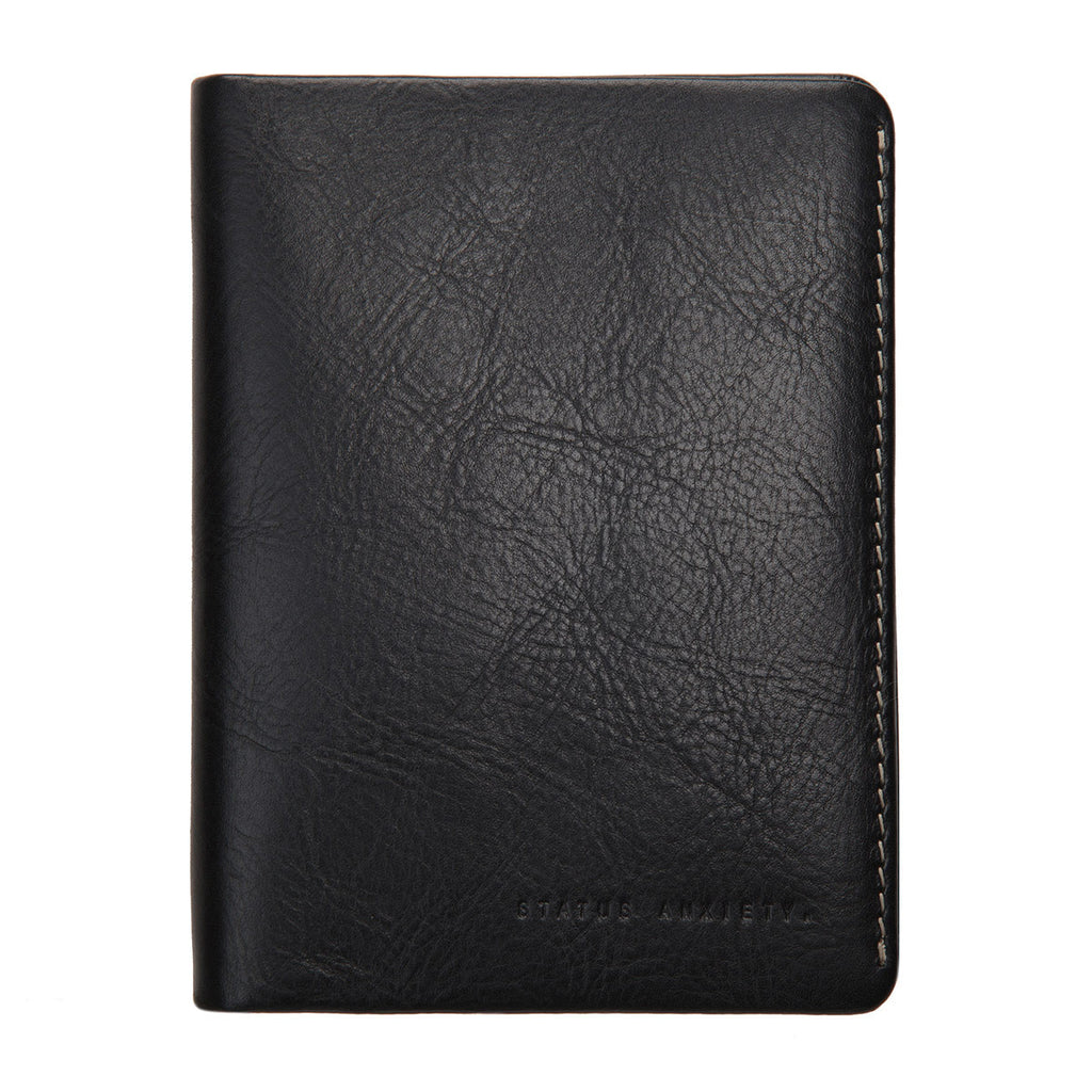 Conquest Passport Wallet Black
