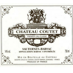 "The Château Coutet vines' deep roots extract elements from its terroir to give the grapes freshness, richness and strength. For this reason the estate carries the name ""Coutet,"" derived from the Gascon's word for knife, to signify the fresh, lively and crisp palate that is the wine's signature style. In its youth, the wines display generous notes of white flowers, citrus fruits, honey and vanilla. Ginger and pineapple are very typical aromas in a young Château Coutet."