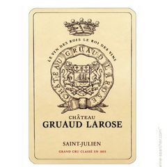 Chateau Gruaud Larose is an interesting producer in the Saint Julien appellation.The largest concentration of Grand Cru Wines is in the Medoc, an area which benefits from a microclimate that is particularly favourable for the expression of the vine. The 82 hectare Saint Julien vineyard of Gruaud Larose is planted to 60% Cabernet Sauvignon, 30% Merlot, 7% Cabernet Franc and 3% Petit Verdot. The vineyard of Gruaud Larose is unique as they have one of the largest vineyards in Bordeaux with most of their vines one single block.