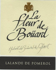 Château La Fleur de Boüard comes from the profound belief of its owner, Hubert de Boüard de Laforest, in the rich potential of Lalande-de-Pomerol terroirs. Supported by his children, Coralie and Matthieu, he applies his technical and oenological know-how in a new, environmentally friendly approach to wine growing. With precision and sustainable purpose, the de Boüard family makes wines with outstanding elegance that compare with the greatest Bordeaux appellations.