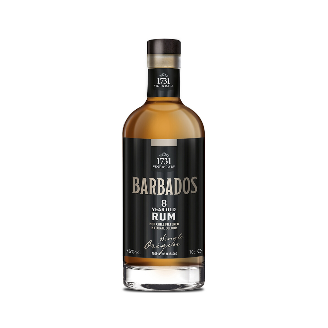 1731 FINE & RARE BARBADOS 8 YEARS OLD RUM