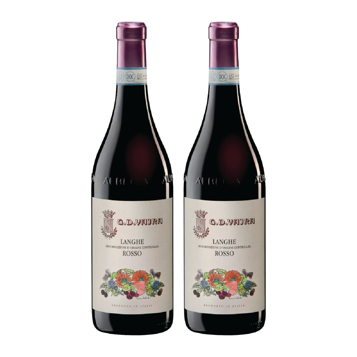 G.D VAJRA LANGHE ROSSO 2018 (2 TO GO)
