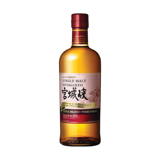 NIKKA MIYAGIKYO APPLE BRANDY WOOD FINISH JAPAN 700ML JAPAN