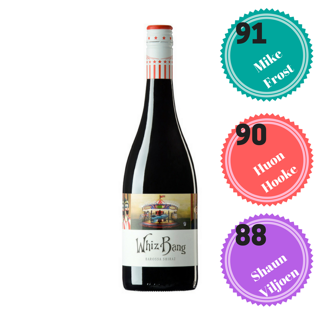 ANGOVE LE CIRQUE WINE CO WHIZ BANG BAROSSA SHIRAZ