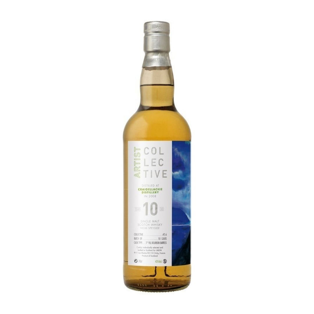 ARTIST COLLECTIVE 2.0 DISTILLED AT CRAIGELLACHIE 10 YEARS OLD 2008