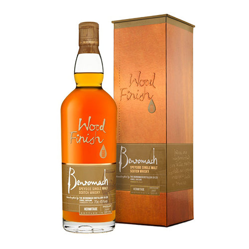 BENROMACH WOOD FINISH HERMITAGE WHISKY