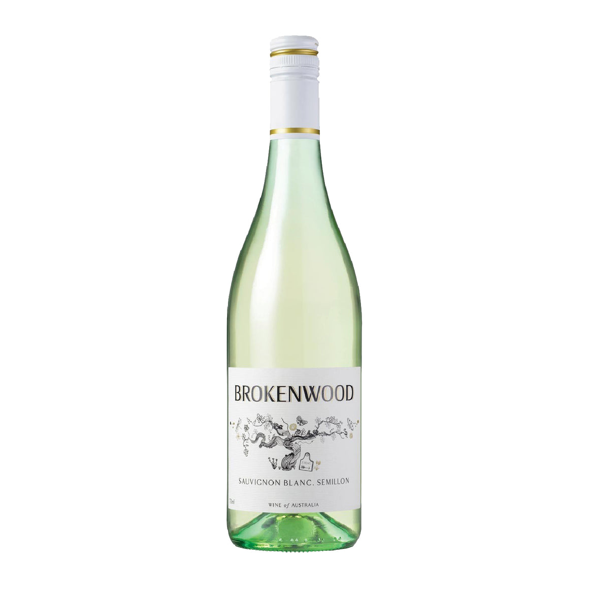BROKENWOOD 8 ROW SAUVIGNON BLANC SEMILLON 2019