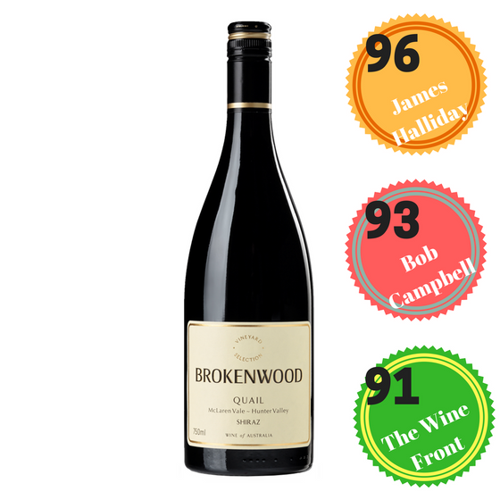 BROKENWOOD QUAIL SHIRAZ 2015