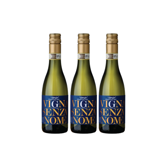 3 bottles of BRAIDA MOSCATO D'ASTI VIGNA SENZA NOME 2018 (375ml) (NDP20)