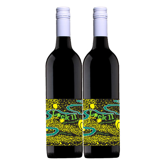 BRAVE TO BE MURRAY SHIRAZ 2018 x2