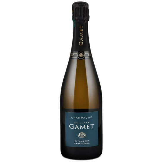CHAMPAGNE PHILIPPE GAMET EXTRA BRUT CARACTERES