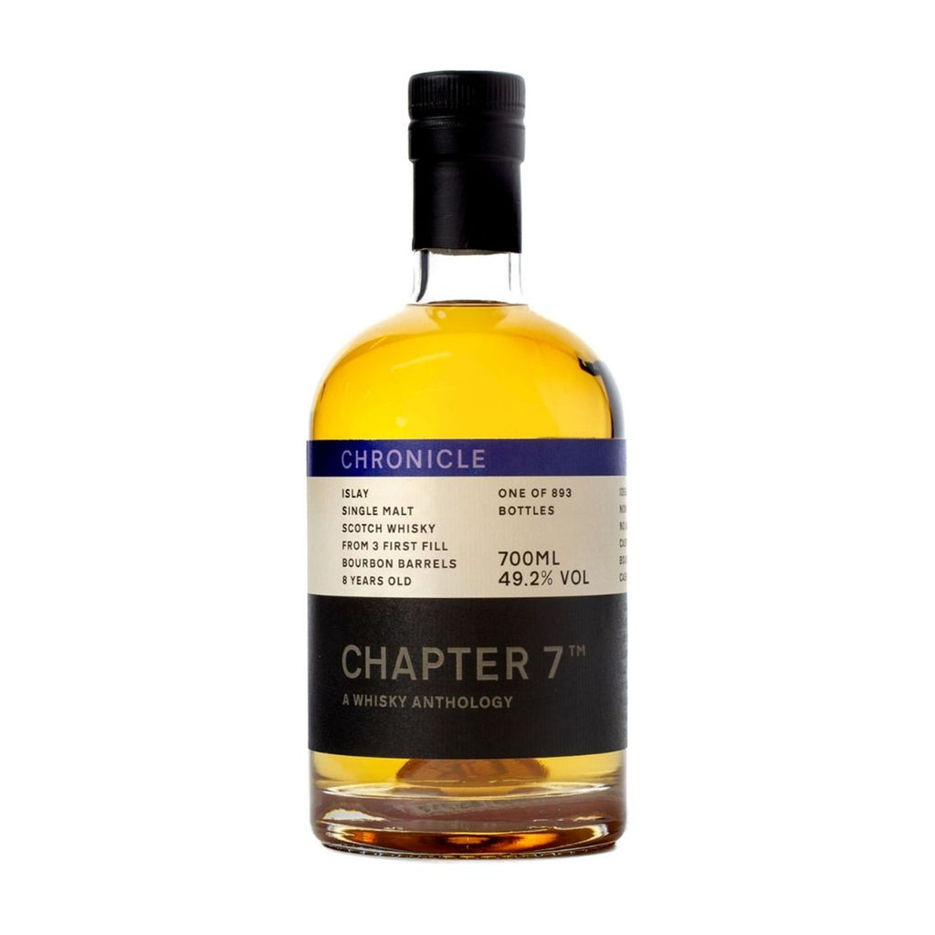 CHAPTER 7 CHRONICLE SECRET ISLAY SINGLE MALT WHISKY AGED 8 YEARS