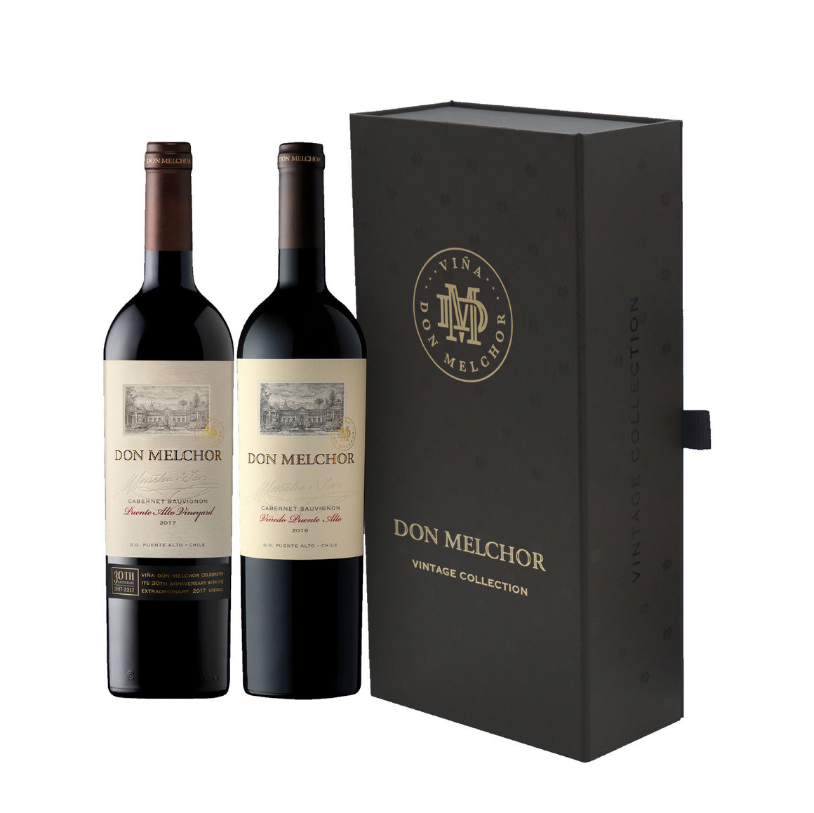DON MELCHOR DOUBLE GIFT SET - CABERNET SAUVIGNON 2018 & 2017