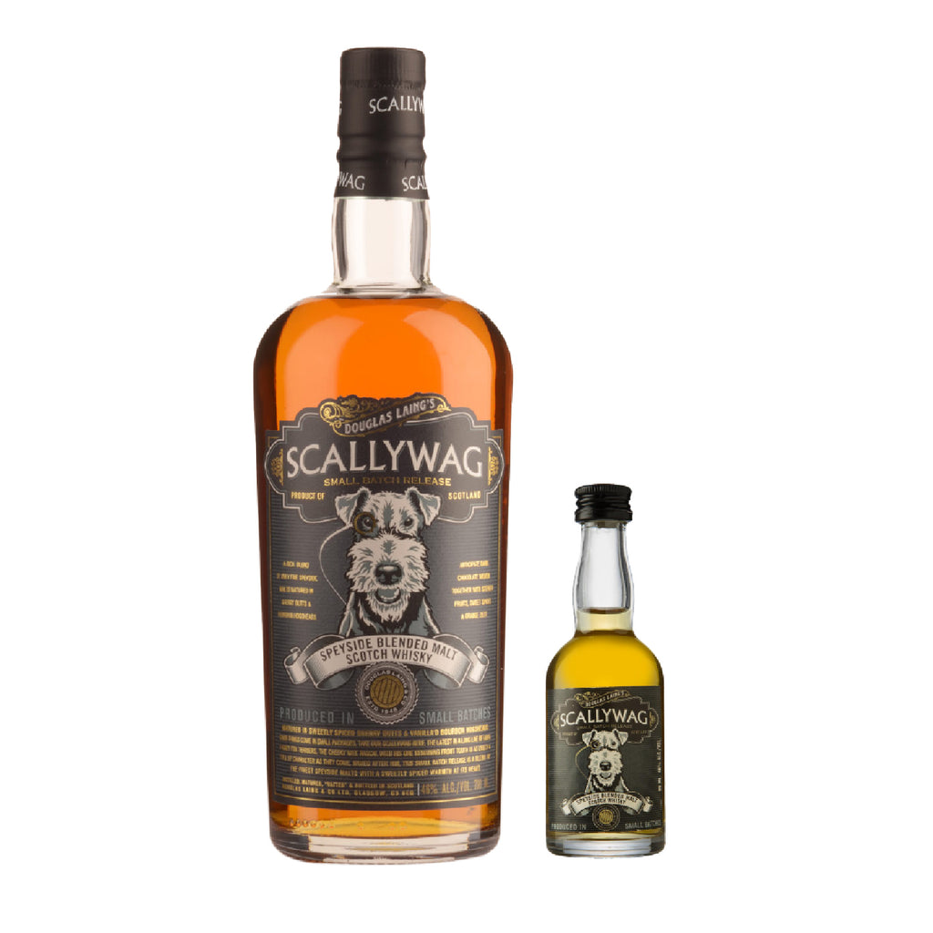 DOUGLAS LAING SCALLYWAG SPEYSIDE BLENDED MALT SCOTCH WHISKY (FREE 50ML - DOUGLAS LAING SCALLYWAG SPEYSIDE BLENDED MALT SCOTCH WHISKY)