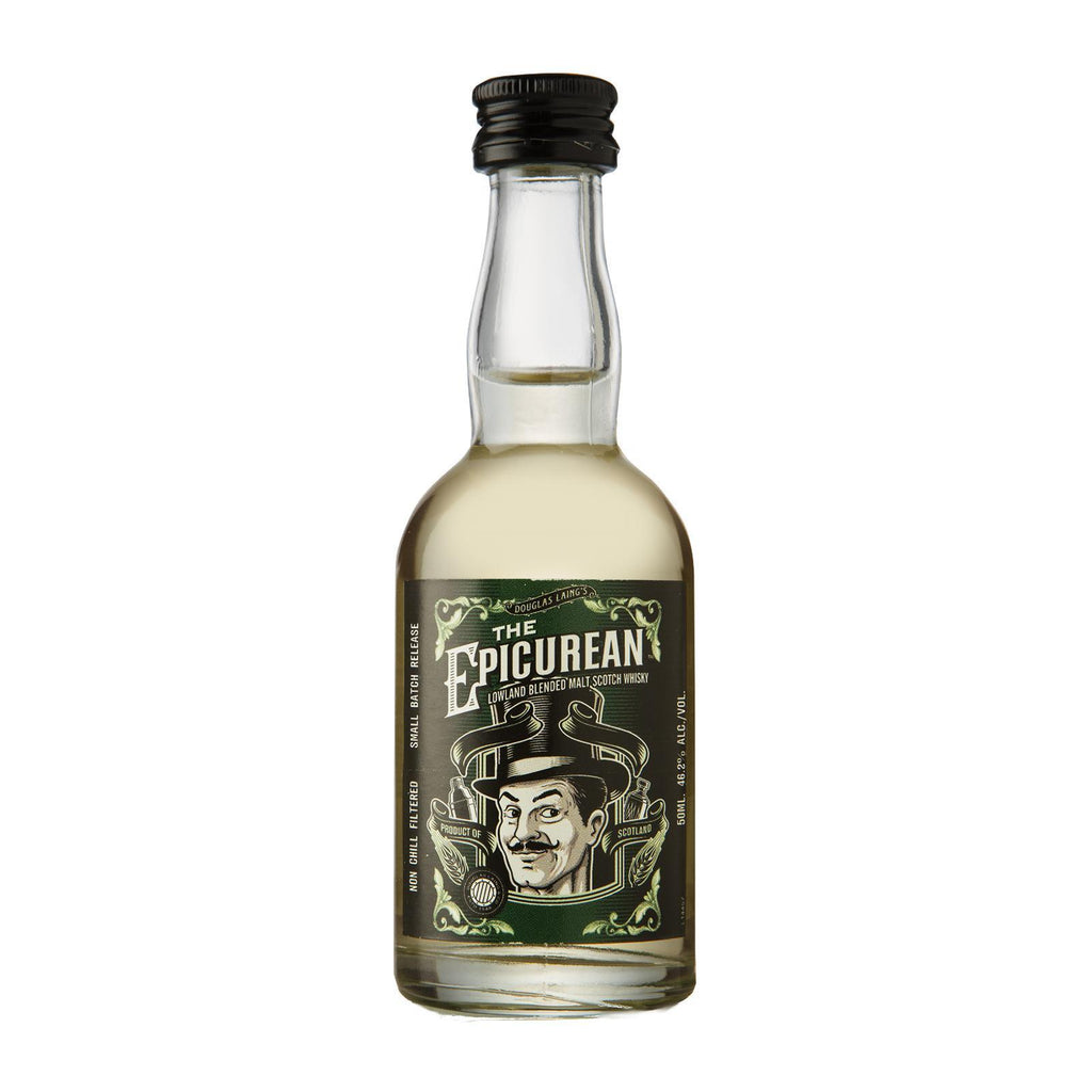 DOUGLAS LAING THE EPICUREAN LOWLAND BLENDED MALT SCOTCH WHISKY 50ML