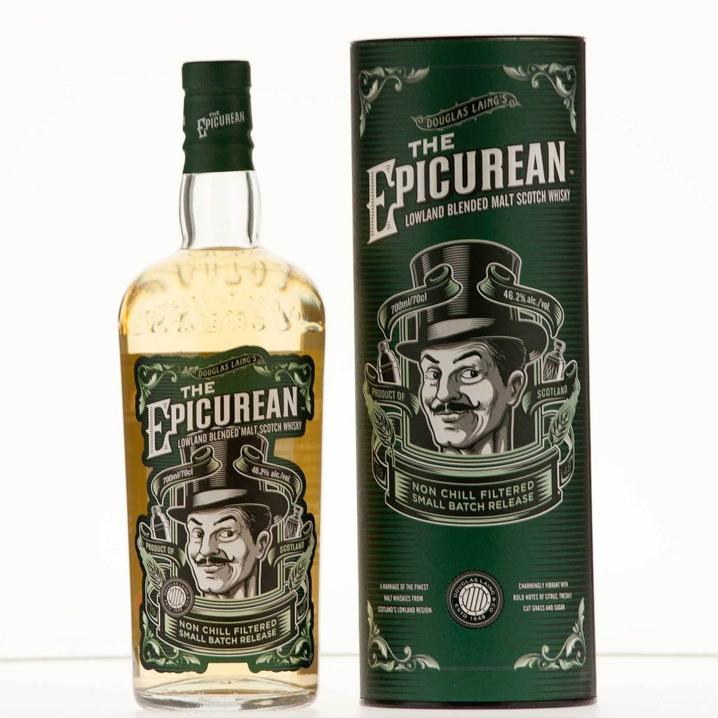 DOUGLAS LAING THE EPICUREAN LOWLAND BLENDED MALT SCOTCH WHISKY