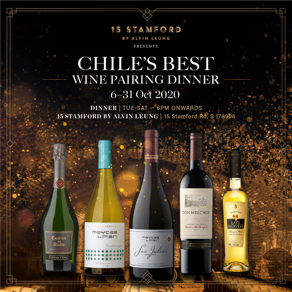 CHILE'S BEST WINE PAIRING DINNER *EARLY BIRD SPECIAL*