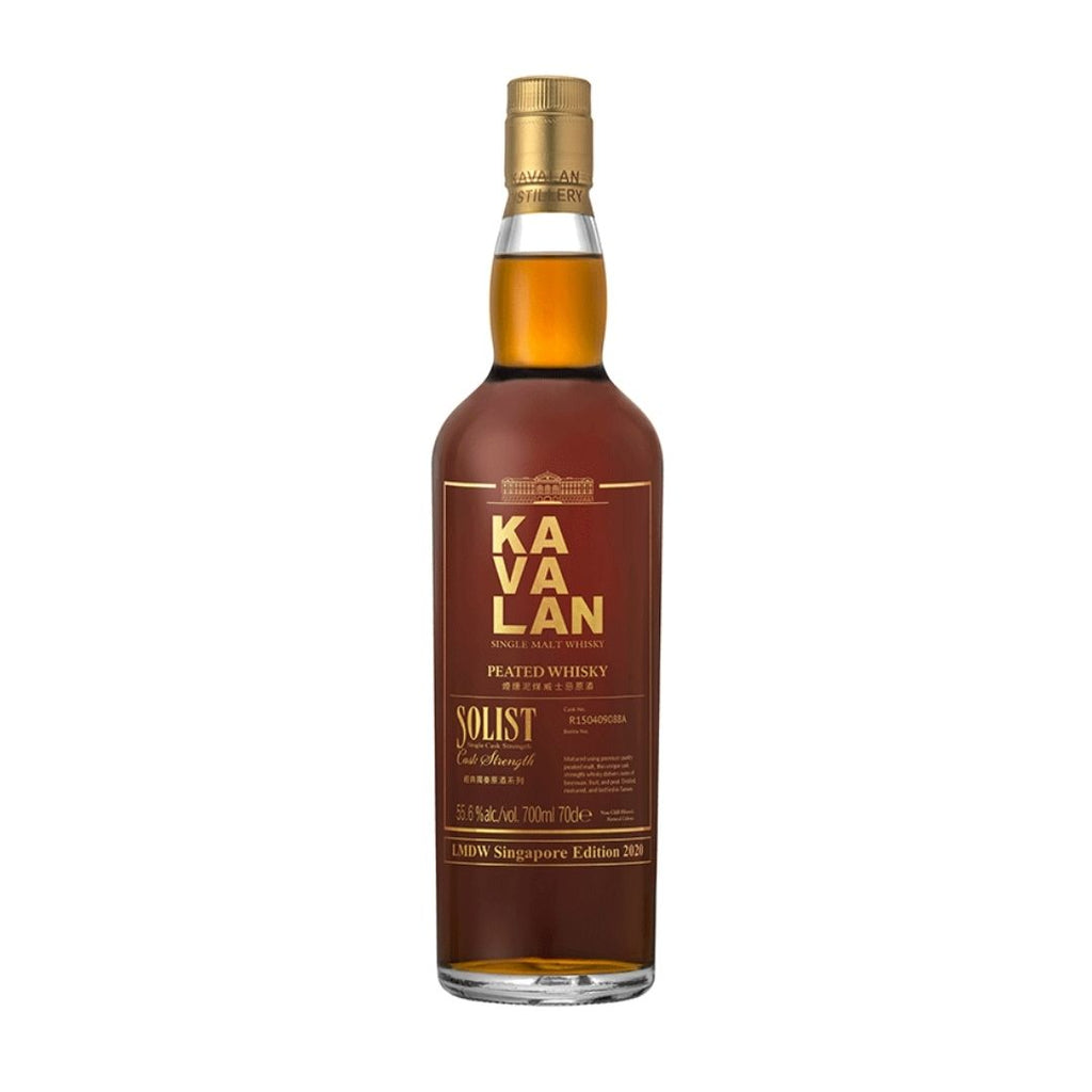 KAVALAN SOLIST PEATED MALT WHISKY SINGAPORE EDITION