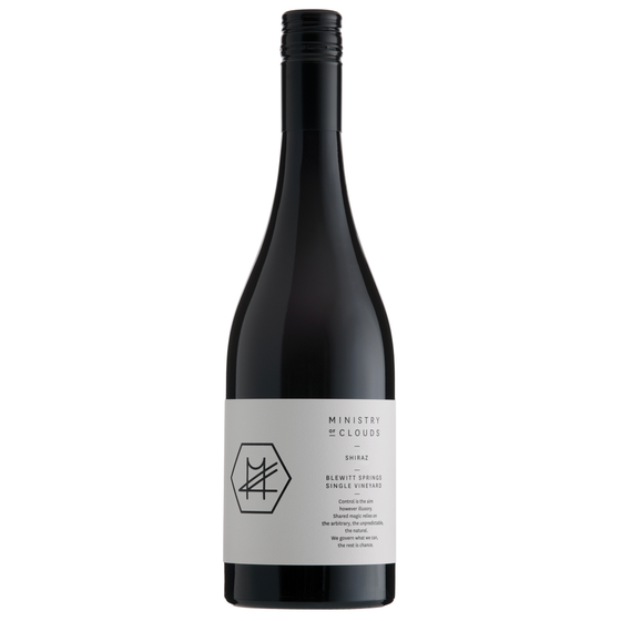 MINISTRY OF CLOUDS BLEWITT SPRINGS SHIRAZ 2012