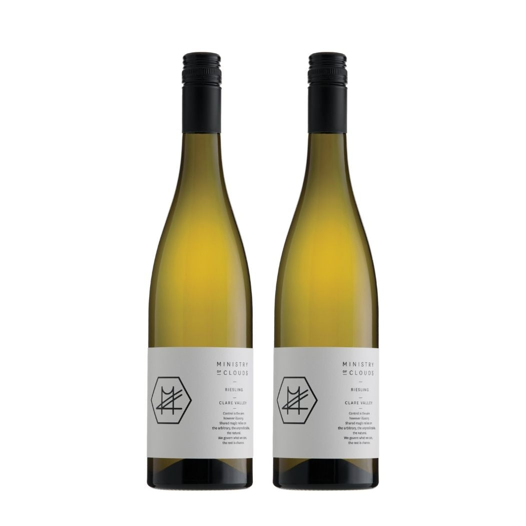 MINISTRY OF CLOUDS RIESLING 2019 & 2020 (2 FOR $85)