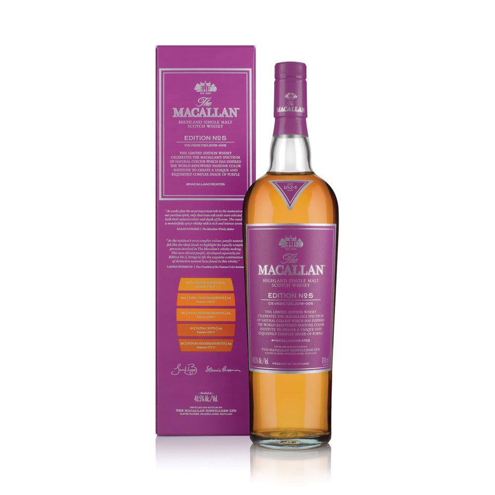 (Pre-Order) The Macallan Edition No.5