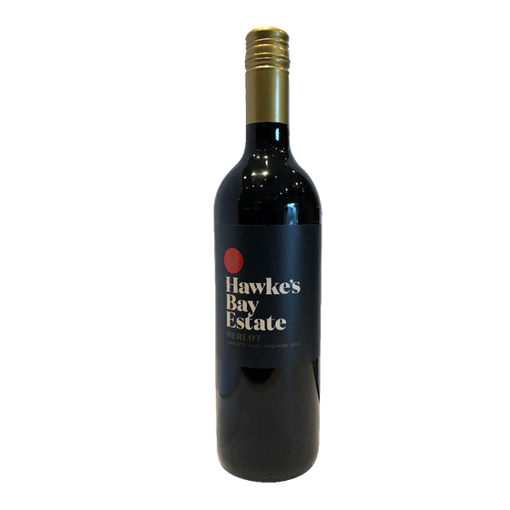 PASK HAWKE'S BAY ESTATE MERLOT 2014