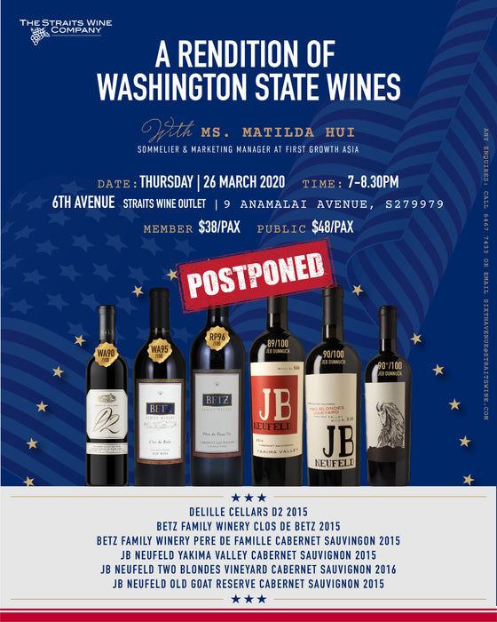 A Rendition Of Washington State Wines