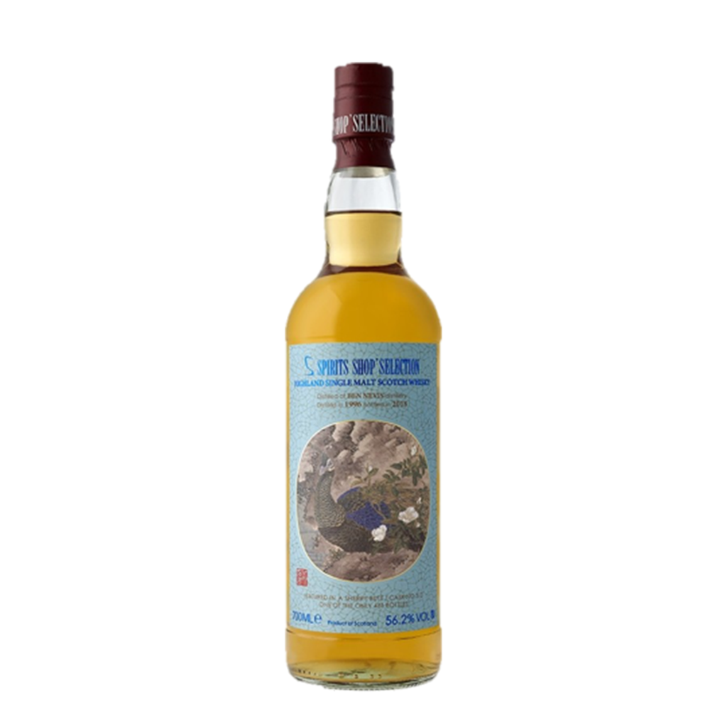 BEN NEVIS 21 ANS 1996 THE PEACOCK'S TAIL DONG FANG MING HUA YANG WHISKY (LIMIITED STOCK)