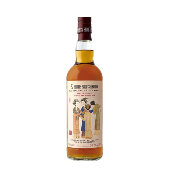 PORT CHARLOTTE 13 ANS 2004 DONG FANG MING HUA YANG WHISKY (LIMITED STOCK)