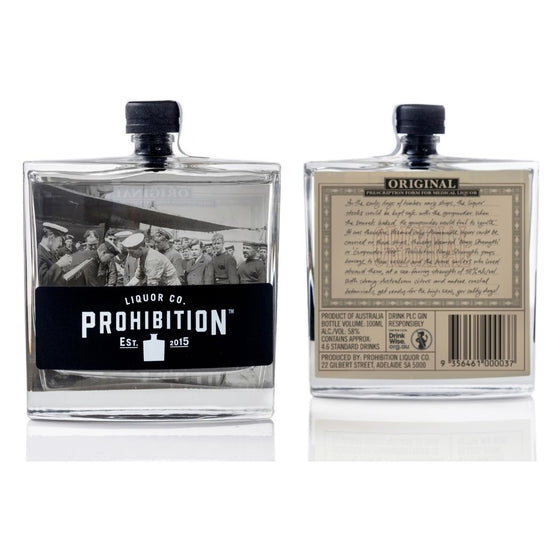 PROHIBITION NAVY STRENGTH GIN 100ML