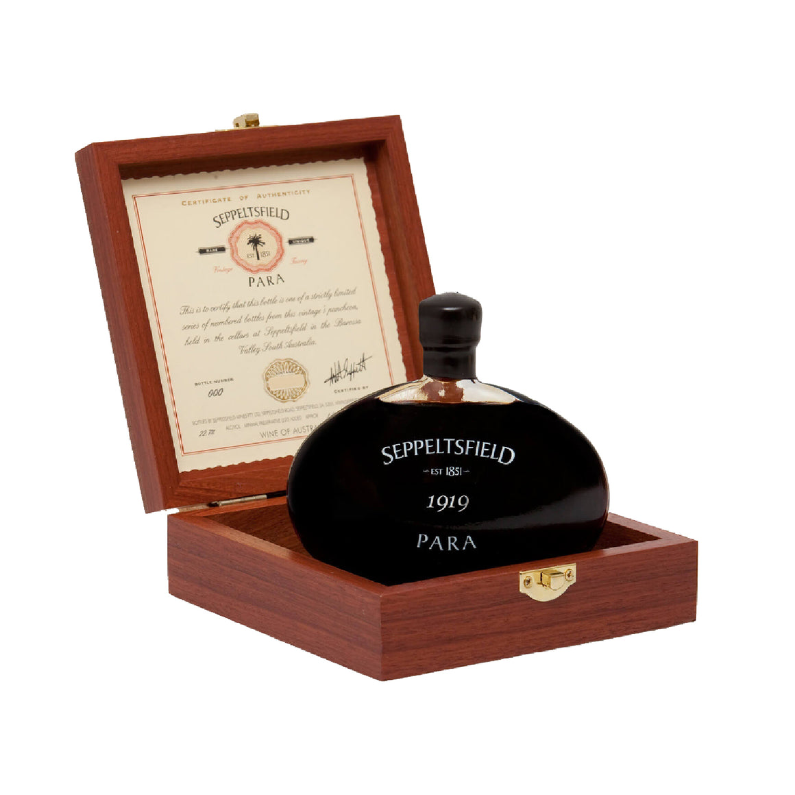 SEPPELTSFIELD 100 YEAR OLD PARA TAWNY 1919 VINTAGE PREMIUM GIFT SET
