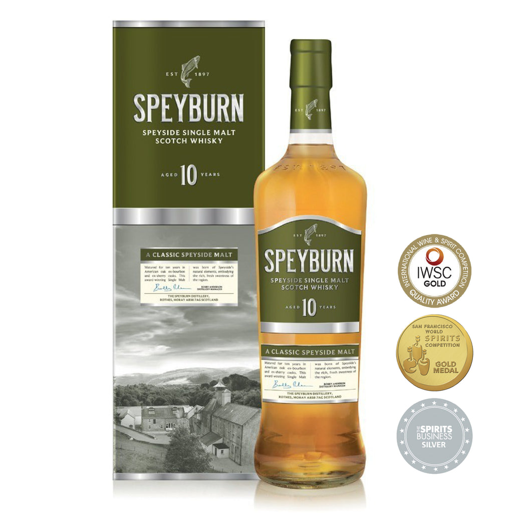 SPEYBURN 10 YRS SINGLE MALT WHISKY