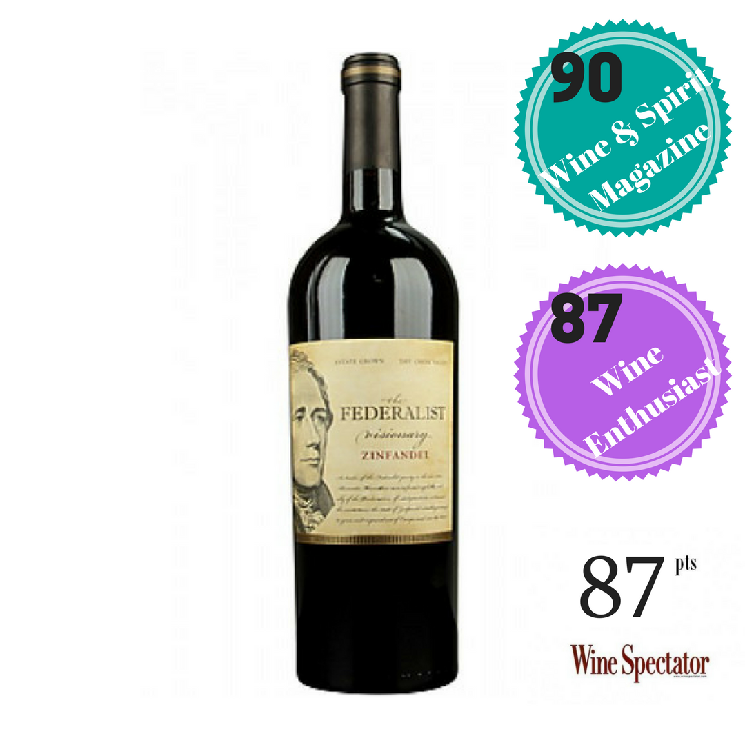 THE FEDERALIST DRY CREEK VALLEY ZINFANDEL 2016
