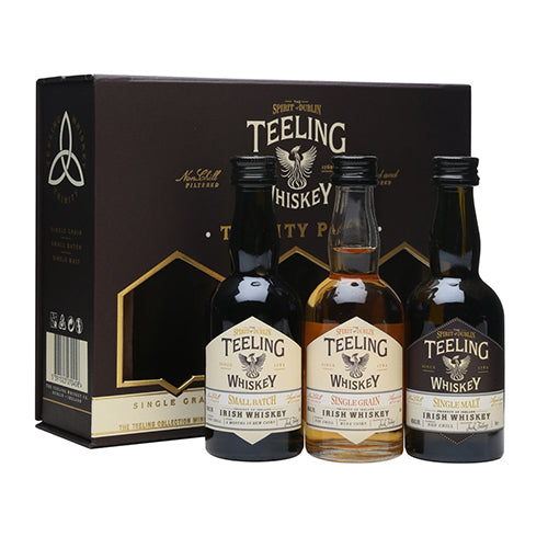 TEELING WHISKY TRINITY PACK 50ML X 3