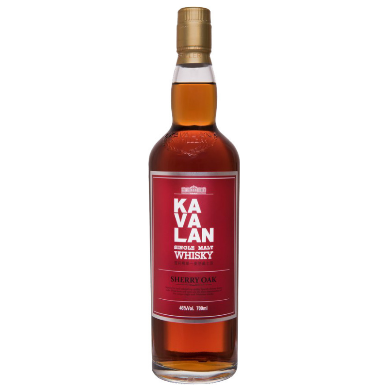 KAVALAN EX-SHERRY OAK SINGLE MALT WHISKY