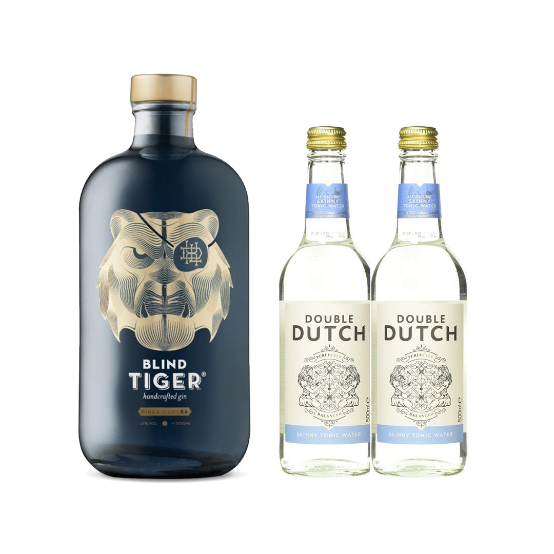 BLIND TIGER PIPER CUBEBA 500ML *FREE 2 DOUBLE DUTCH SKINNY TONIC WATER 200ML