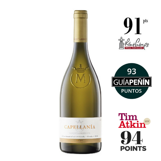 MARQUES DE MURRIETA CAPELLANIA RIOJA BLANCO RESERVA 2011
