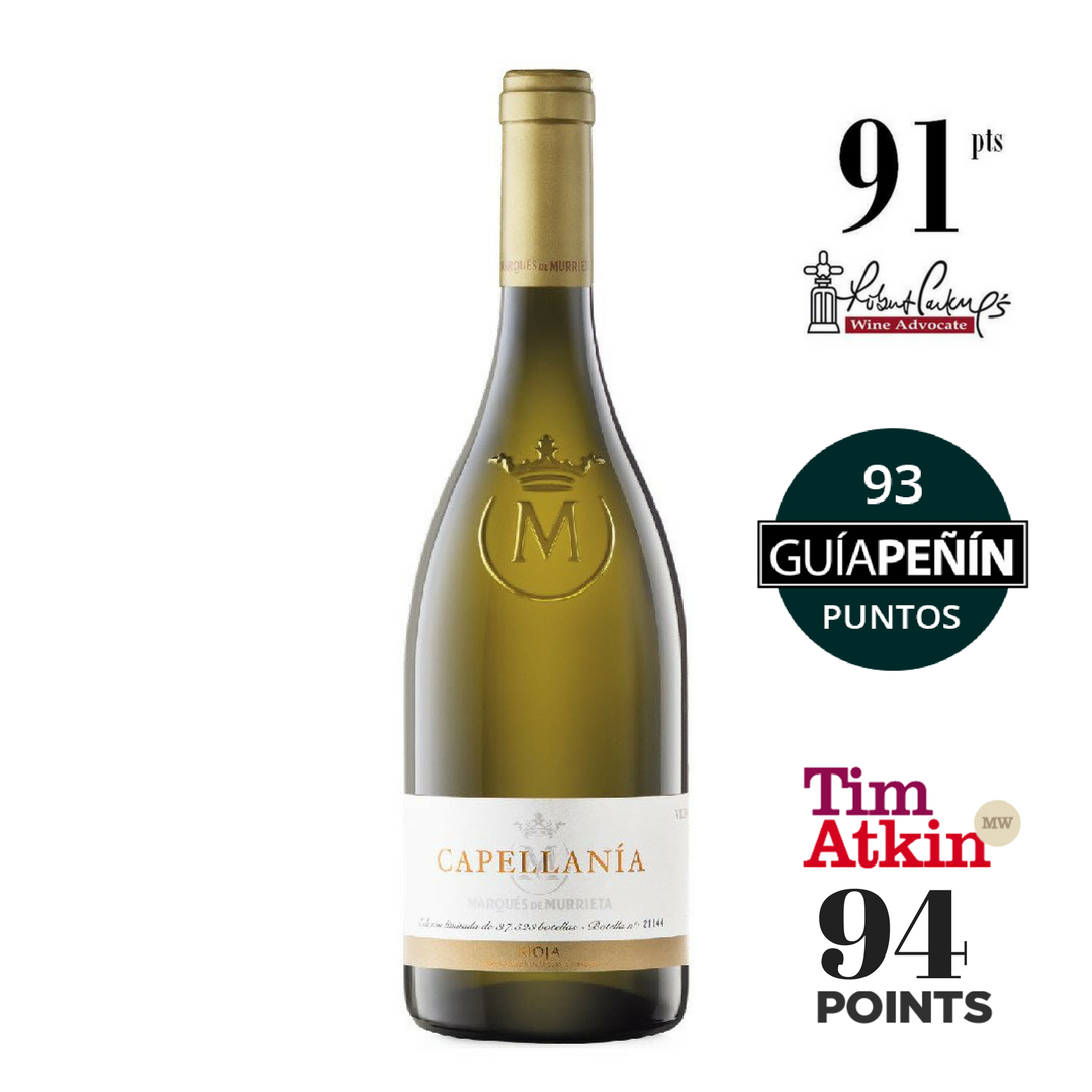 MARQUES DE MURRIETA CAPELLANIA RIOJA BLANCO RESERVA 2014