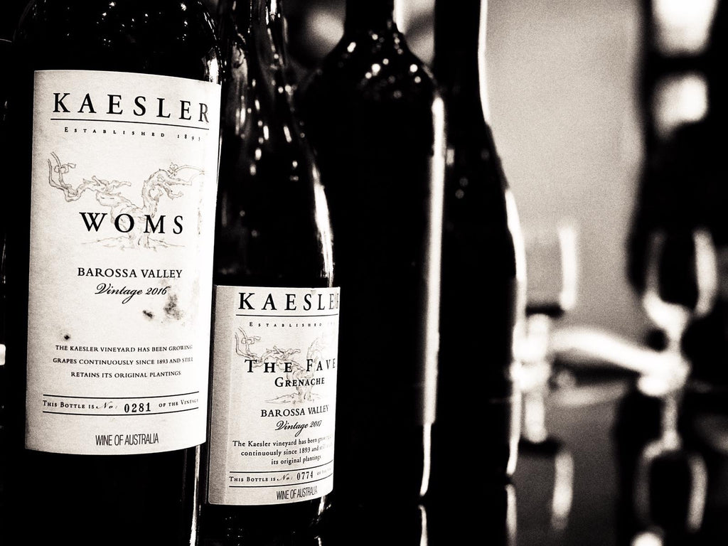 "KAESLER WOMS CABERNET SHIRAZ 2016 (""Weapon Of Mass Seduction"")"