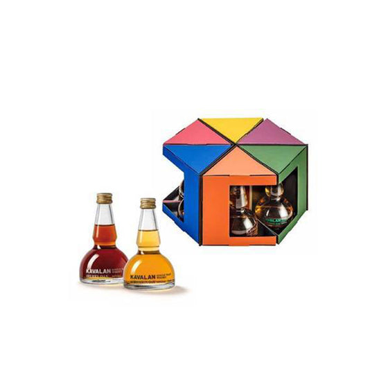 KAVALAN COFFRET DECOUVERTE ALAMBICS 6 x 5CL SET
