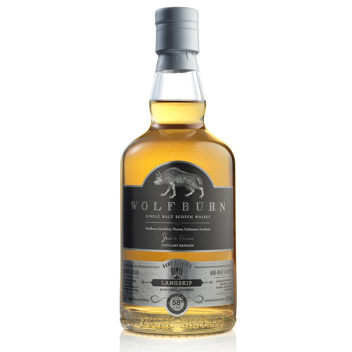 WOLFBURN LANGSKIP SINGLE MALT WHISKY