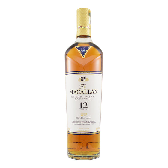 THE MACALLAN DOUBLE CASK 12 YEARS OLD SINGLE MALT WHISKY 700ML