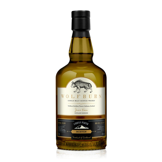 WOLFBURN MORVEN SINGLE MALT WHISKY 700ML