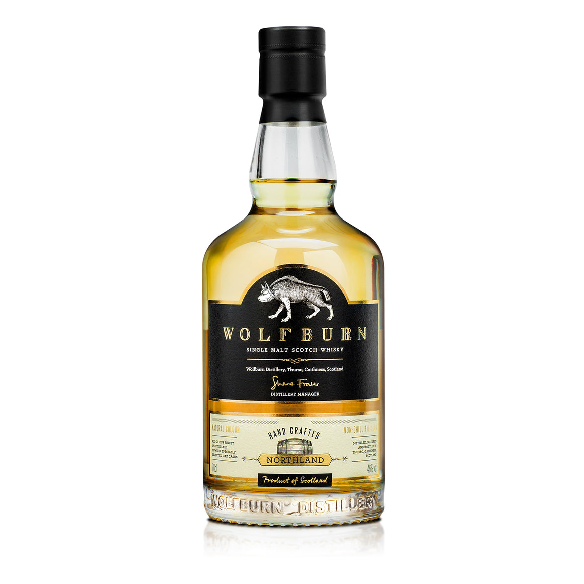 WOLFBURN NORTHLAND SINGLE MALT WHISKY 700ML